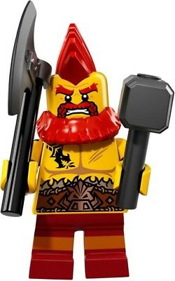 LEGO Collectible MiniFigure: Series 17: #10 - Battle Dwarf (Sealed Pack)