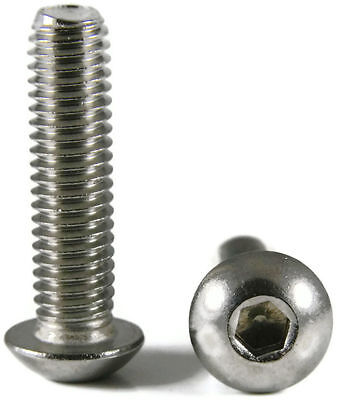 Button Head Socket Cap Screw Stainless Steel Screws UNC 1-64 x 3/8 Qty 1000