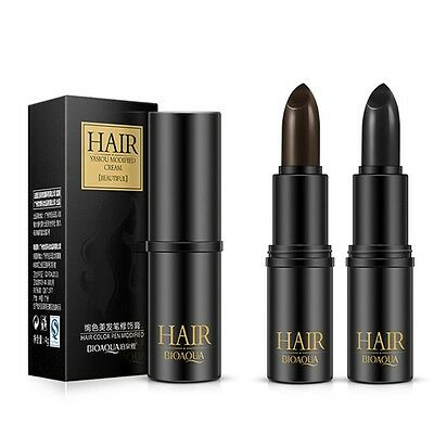 Non-Toxic Unisex Cover Gray Hair Instant Root Touch Up Stick Hair Color All Type