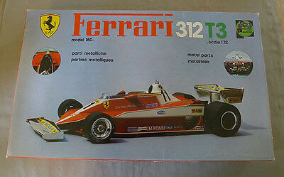 Protar Italy Plastic Ferrari 312 T3 Complete & Unstarted 1/12 Model Kit & Box