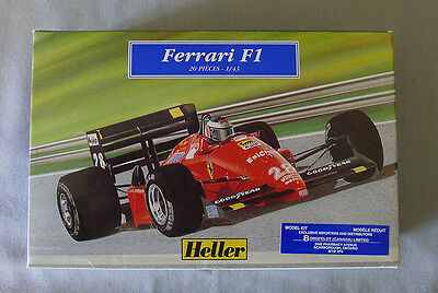 Heller France Ferrari F1 20 Pieces 1/43 Unmonted Model Kit With Box