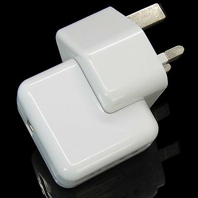 UK Plug 2.1A USB AC Wall Charger For iPad Air iPad Mini 2 W/ Retina Display