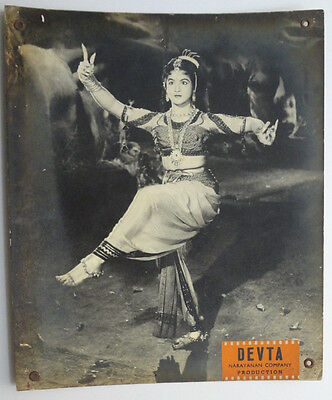 8pcs x 1956 Bollywood Movie DEVTA Lobby Cards Gemini Ganesan 48959