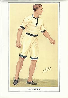 Vanity Fair CRICKET print - MR. CHARLES BURGESS FRY