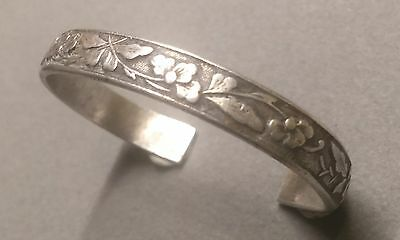 Antique Chinese Pure Silver Small  Bracelet
