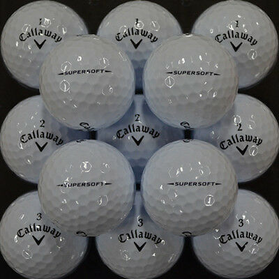Mint Condition Callaway Supersoft Dozen - Multiple Dozens Available