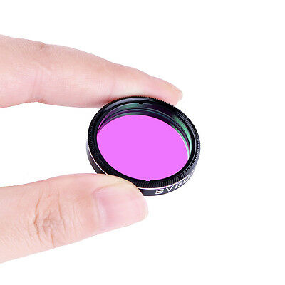 "28.5*0.6mm Metal 1.25"" UHC Filter Light Pollution Reduction Filter for Telescope"