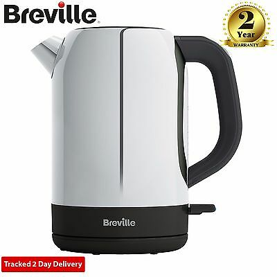 Breville VKJ982 Outline Polished Stainless Steel Jug Kettle 1.7 Litre in Silver