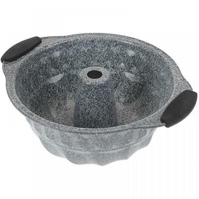 Round Non Stick Granite Coated Bundt Form Cake Pan Kugelhopf Baking Mould Tin