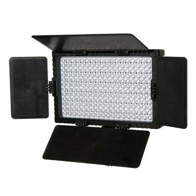 Falcon Eyes Photography Studio LED Lamp Set Dimmable DV-216VC-K2 with Battery