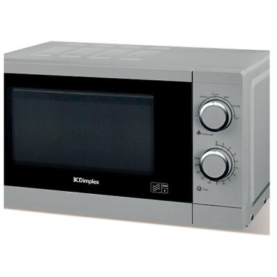 Dimplex microwave 20 litres 700 watts 6 power levels 30 minute timer Silver