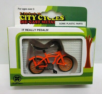 Zylmex - City Cycles H383 - Royce Union Bicycle     1:20 Scale Diecast / Plastic