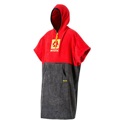 Mystic Poncho Regular Red 2017 - Größe: One Size