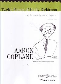 Copland 12 Poems Of Emily Dickinson Voice & Piano