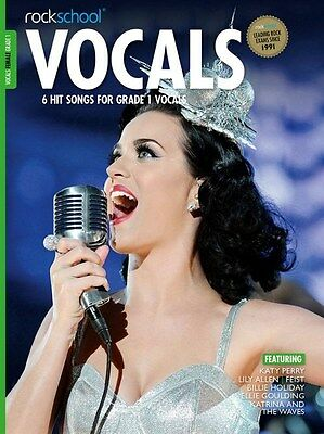 ROCKSCHOOL VOCALS 2014-17 Female Grade 1+ online*