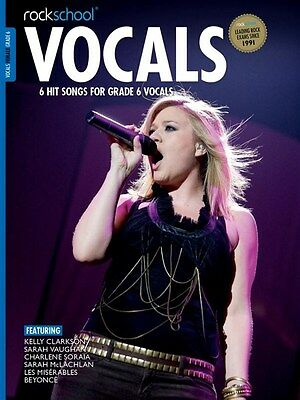 ROCKSCHOOL VOCALS 2014-17 Female Grade 6 + online