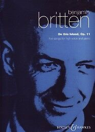 Britten On This Island High Voice/piano