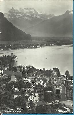 Swiss Postcard - TERRITET, CHILLON ET DENTS DU MIDI, SWITZERLAND