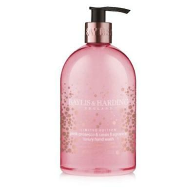 Baylis & Harding Pink Prosecco and Cassis 500ml Hand Wash FREE P&P