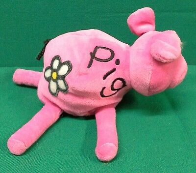 BANG ON THE DOOR Pig Beanbag Plush