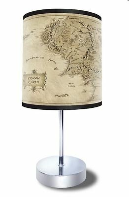 Lord of the Rings Map Desk Lamp