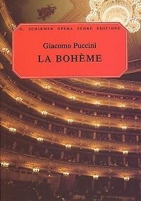 PUCCINI LA BOHEME VOCAL SCORE Italian & English