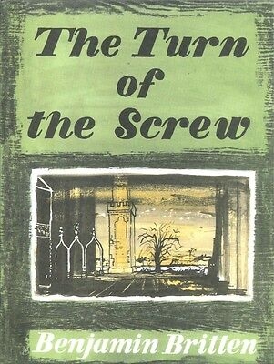 BRITTEN TURN OF THE SCREW Vocal Score