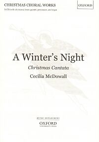 MCDOWALL A WINTER'S NIGHT Christmas Cantata satb