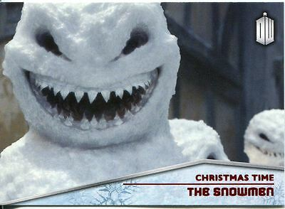 Doctor Who 2015 Christmas Time Chase Card CT-8 The Snowmen