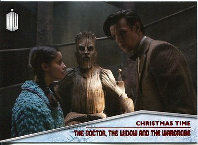 Doctor Who 2015 Christmas Time Chase Card CT-7 The Doctor, the Widow & the Ward
