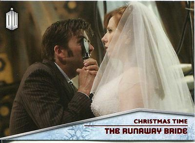 Doctor Who 2015 Christmas Time Chase Card CT-2 The Runaway Bride
