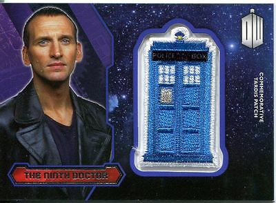 Doctor Who 2015 Tardis Patch Card P-9 The Ninth Doctor
