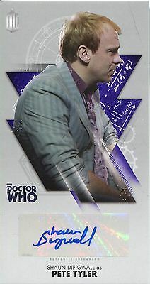Doctor Who The Tenth Doctor WS Autograph Card WA-SD Shaun Dingwall as Pete Tyler