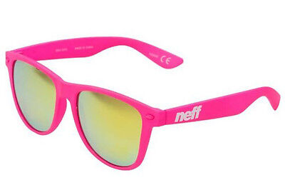 Neff Sonnenbrille Daily Shades pink rubber 2017