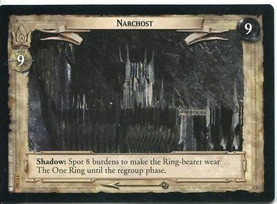 Lord Of The Rings CCG Card RotK 7.U362 Narchost