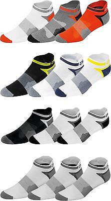 Asics Mens Quick Lyte 3 Pack Cushion Single Tab Socks