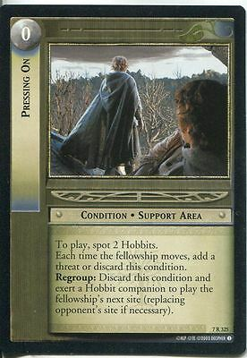Lord Of The Rings CCG Card RotK 7.R100 Greatest Stronghold