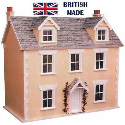 Dolls House Workshop River Cottage Victorian Style Dolls House Kit 12th Scale