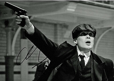 Cillian Murphy Peaky Blinders Thomas Shelby Autographed Photo PRINT 7x5