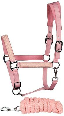 Headcollar set Candy Pink Full Size Harry's Horse