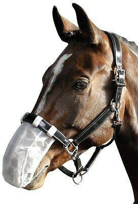 Harry's Horse Mesh Nose Net - White Harry's Horse