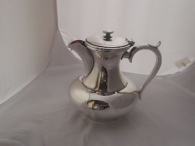 Vintage Silver Plate Coffee/Water Jug Arts & Crafts Style James Dixon Sheffield