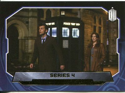 Doctor Who 2015 Gold Parallel Base Card #196 Series 4 1/1