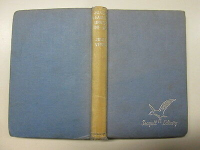 Acceptable - 20,000 Leagues Under the Sea - Jules Verne 1957-01-01 Faded spine.