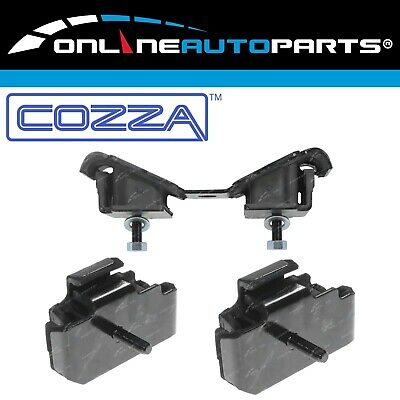 2 Front Engine + Gearbox Mounts suits Landcruiser 3F Petrol FJ62 FJ70 FJ73 FJ75
