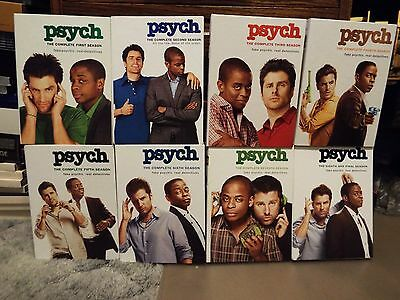 Psych - Complete Series on DVD - Seasons 1-8