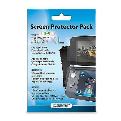 NEW VERSION Screen Protector Pack For your New 3DS XL Nintendo