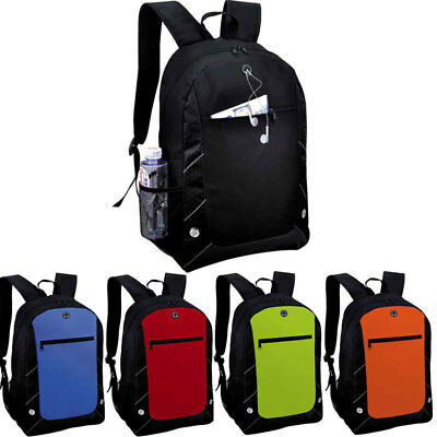 ViVo Anthracite Backpack Back Pack Rucksack Sports Gym School Travel Holiday Bag