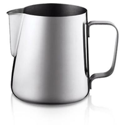 Stainless Steel Coffee Cappuchino Latte Milk Flat White Frothing Foam Gravy Jug