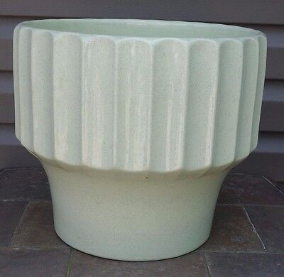 Huge Vintage Bauer Biltmore #14 Mint Green Planter Jardiniere California Pottery